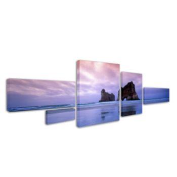 """Archway Islands"" 5-piece Canvas Wall Art Set"