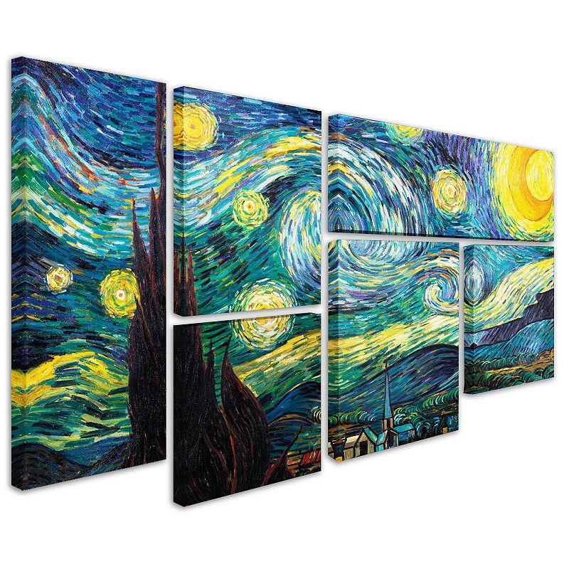 archway islands 5 piece canvas wall art set. Black Bedroom Furniture Sets. Home Design Ideas