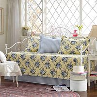 Laura Ashley Lifestyles Linley 5 pc Reversible Daybed Set