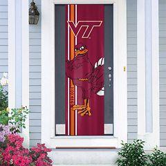 Virginia Tech Hokies Door Banner