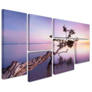 """Water Tree XV"" 6-piece Canvas Wall Art Set"