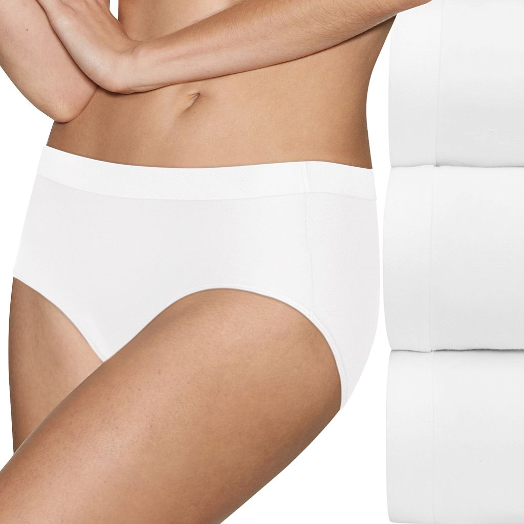 Hanes Ultimate 3-pack ComfortBlend Stretch X-Temp Hipsters 41XT