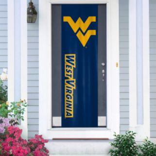 West Virginia Mountaineers Door Banner