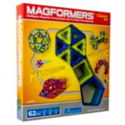 Magformers Classic 62-pc. Magnetic Set