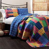 Lush Decor Misha 3 pc Reversible Quilt Set