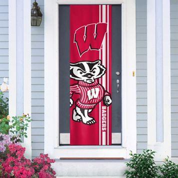 Wisconsin Badgers Door Banner
