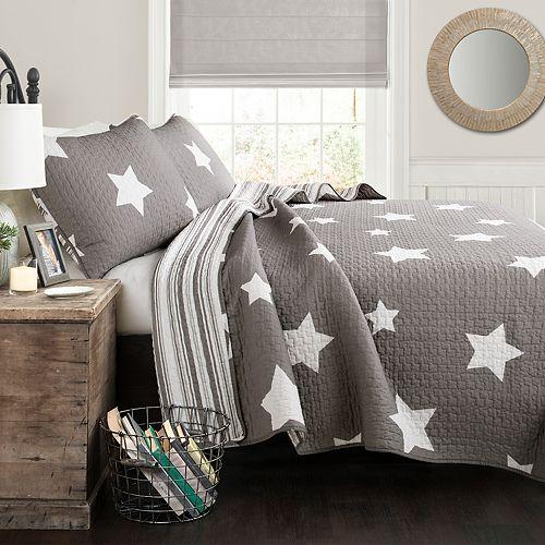 Lush Decor Star Quilt Set