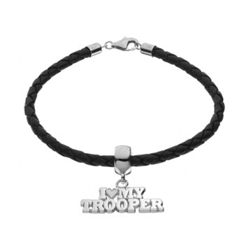 Insignia Collection Sterling Silver & Leather