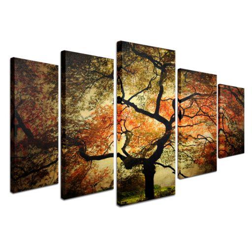 """Japanese"" 5-piece Canvas Wall Art Set"