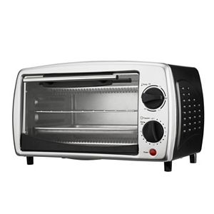 Brentwood 4-Slice Toaster Oven with Oven Broiler