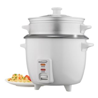 Brentwood 10-Cup Rice Cooker with Steamer