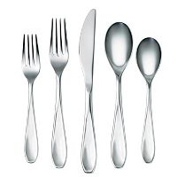 Corelle Ruby 45-pc. Flatware Set