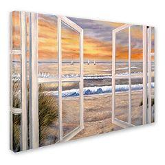 'Elongated Window' Canvas Wall Art