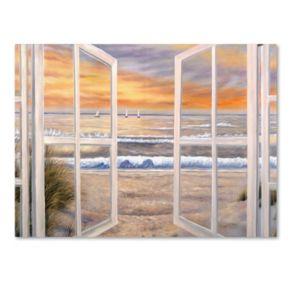 """Elongated Window"" Canvas Wall Art"