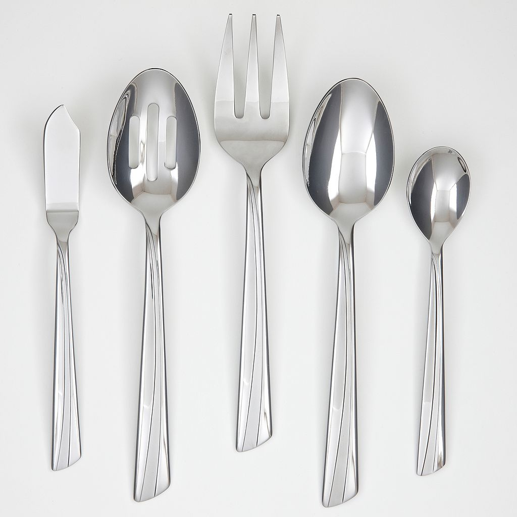 Corelle Laina Frost 45-pc. Flatware Set