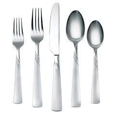 Corelle Kit Frost 45-pc. Flatware Set