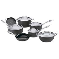 Cuisinart 12-pc. Green Gourmet Hard-Anodized Nonstick Cookware Set