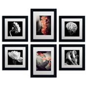 6 pc ''Floral Gallery'' Wall Art Set
