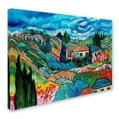 'Valley House' Canvas Wall Art