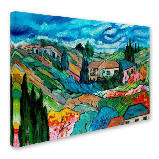 """""""Valley House"""" Canvas Wall Art"""