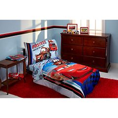 Disney / Pixar Cars Fastest Team 4 pc Bedding Set - Toddler