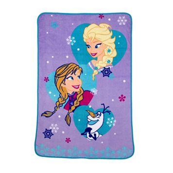 Disney's Frozen Magical Sisters Coral Fleece Blanket
