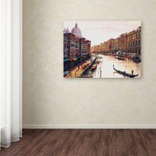 """Venice"" Canvas Wall Art"