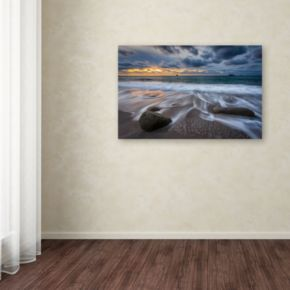 """""""The Song of Water"""" Canvas Wall Art"""