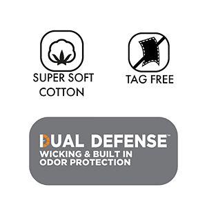 Men's Fruit of the Loom Signature Super Soft Black/Grey A-Shirt (6-pack)
