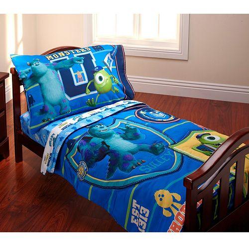 Disney's Monsters University 4-pc. Bedding Set - Toddler