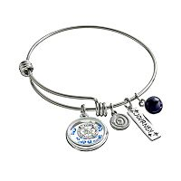 love this life Crystal & Sodalite Stainless Steel