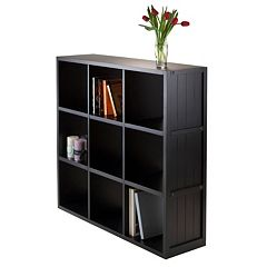 Winsome Timothy 9-Cube Storage Shelf