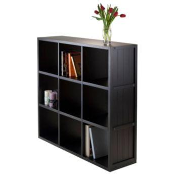 Winsome Timothy 9-Cube Storage Shelf