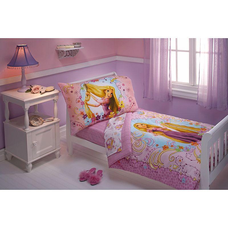 Tangled Toddler Bedding Set
