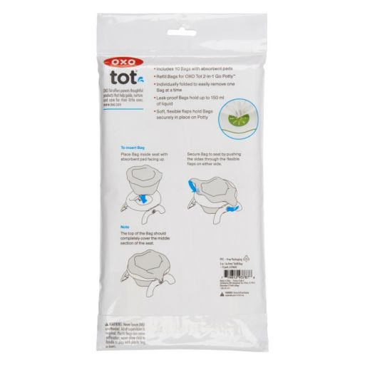 OXO Tot 2-in-1 Go Potty 10-pk. Replacement Bags
