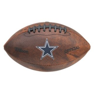 Wilson Dallas Cowboys Throwback Football