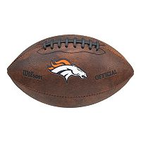 Wilson Denver Broncos Throwback Football