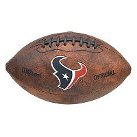 Wilson Houston Texans Throwback Football