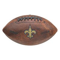 Wilson New Orleans Saints Throwback Football