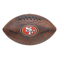 Wilson San Francisco 49ers Throwback Football