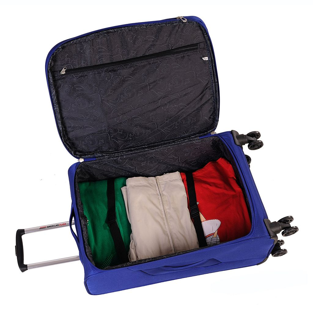 American Flyer Simply Lite 20-Inch Spinner Carry-On
