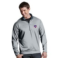 Men's Antigua FC Dallas Leader 1/4-Zip Pullover