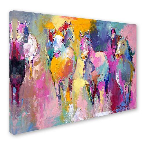 """Wild"" Canvas Wall Art"