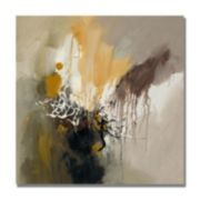 """Abstract I"" Canvas Wall Art"