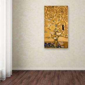 """Tree of Life Soclet Frieze, 1905"" Canvas Wall Art"