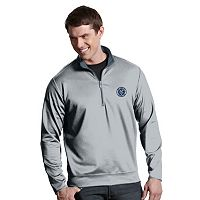 Men's Antigua New York City FC Leader 1/4-Zip Pullover