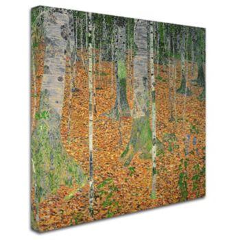 """The Birch Wood"" Canvas Wall Art"