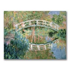 'The Japanese Bridge, Giverny'' Canvas Wall Art by Claude Monet