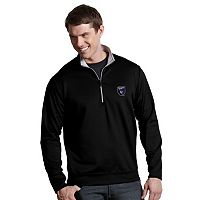 Men's Antigua San Jose Earthquakes Leader 1/4-Zip Pullover