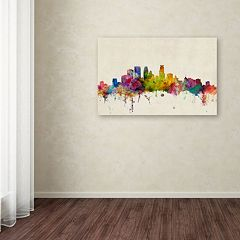 'Minneapolis Minnesota' Canvas Wall Art